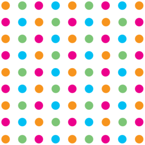 Multicoloured Polka Dot Wrapping