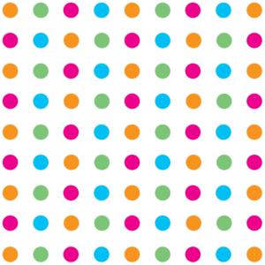 Multicoloured Polka Dot Wrapping